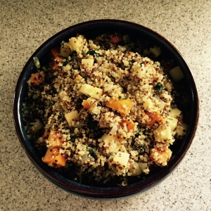 Quinoa and Root Vegetables