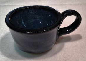 A small bowl can be turned into a cup...just add a handle.